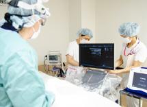 写真:血管内カテーテル手術(血管内焼灼術)